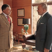 Keith David and GregAlan Williams in 'Greenleaf'