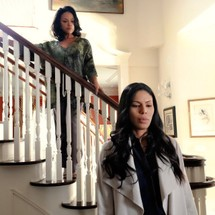 Lynn Whitfield and Merle Dandridge in 'Greenleaf'