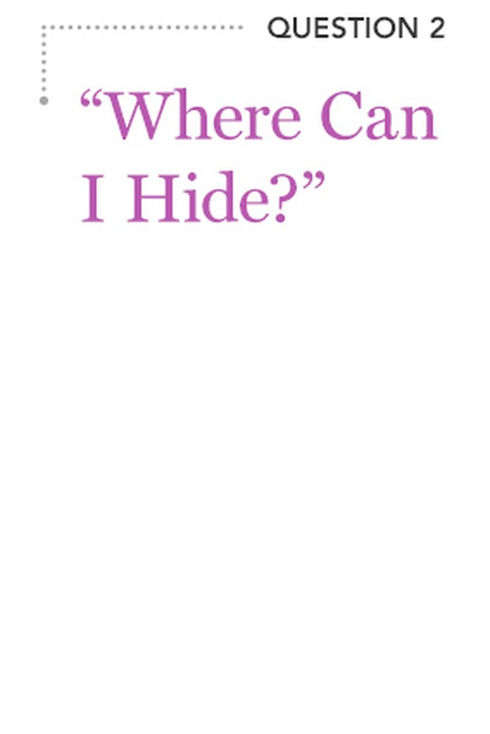 """Where Can I Hide?"""