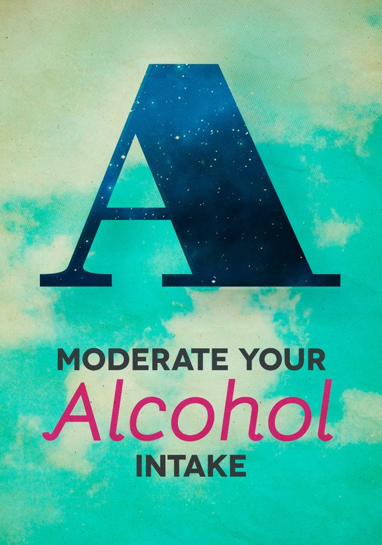 Moderate Your Alcohol Intake