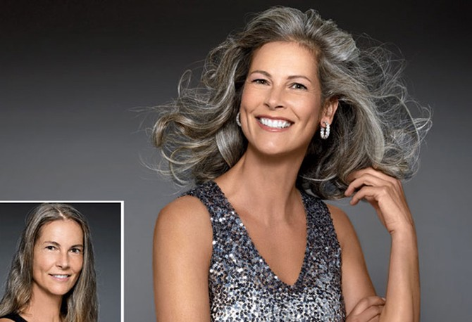 7 Gorgeous Gray Hair Makeovers