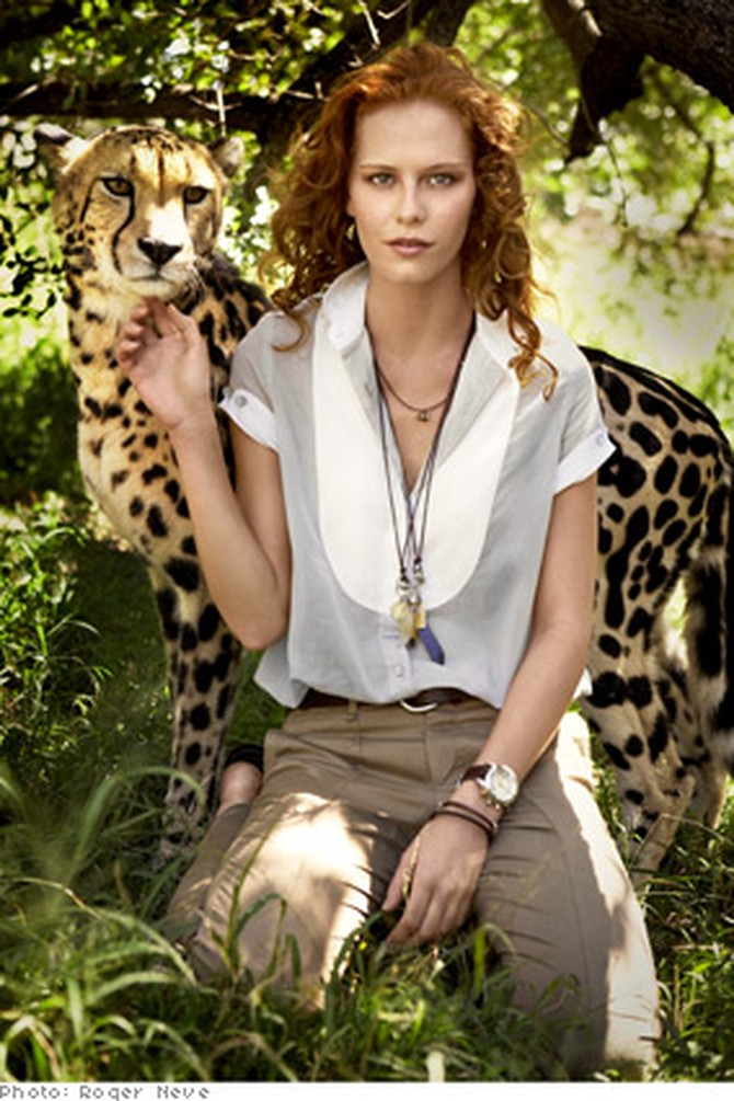 Safari Fashions How To Wear African Patterns And Prints