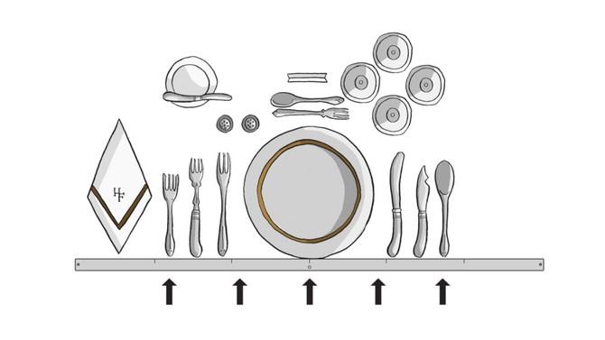 Proper Table Setting Guide The Butler Speaks