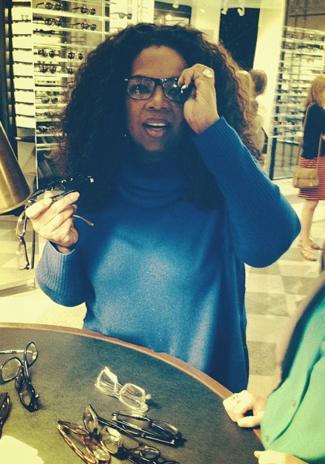 bba98ad18b oprah glasses. Courtesy of Oprah Winfrey.