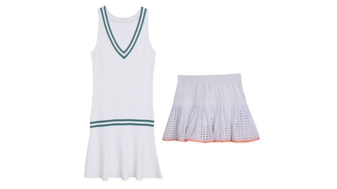 Tennis Dress And Skirt