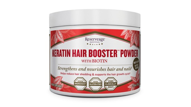 Reserveage Nutrition Keratin Hair Booster Powder with Biotin