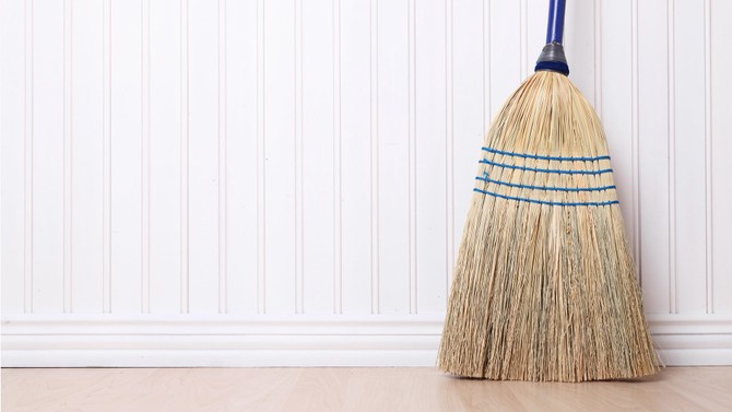 the best way to sweep a floor and other housekeeping tips oprah com