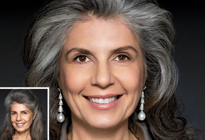 Styles For Grey Hair: 7 Gorgeous Gray Hair Makeovers
