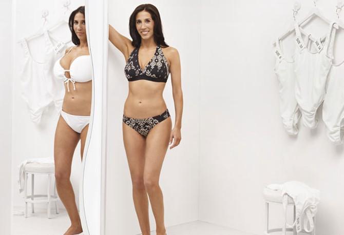 165ec123228 Erin Yoffe Halper swimsuit makeover in O magazine