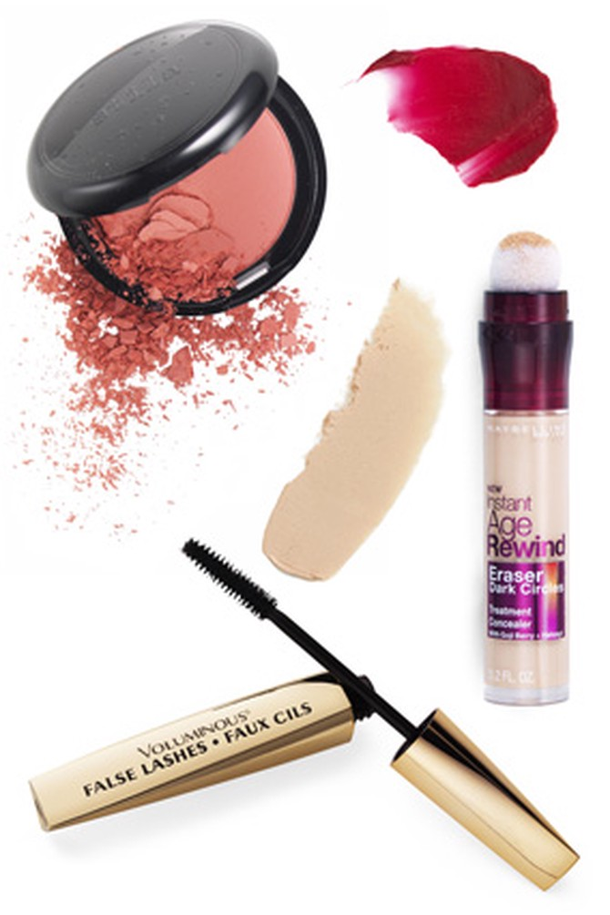 Fall 2011 Makeup Trends - Bold Lips - Sparkling Eyes