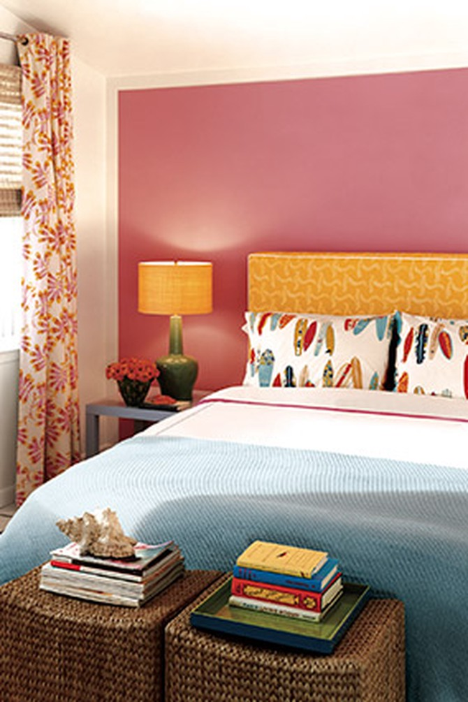 Decorating With Red Orange And Pink Red Rooms