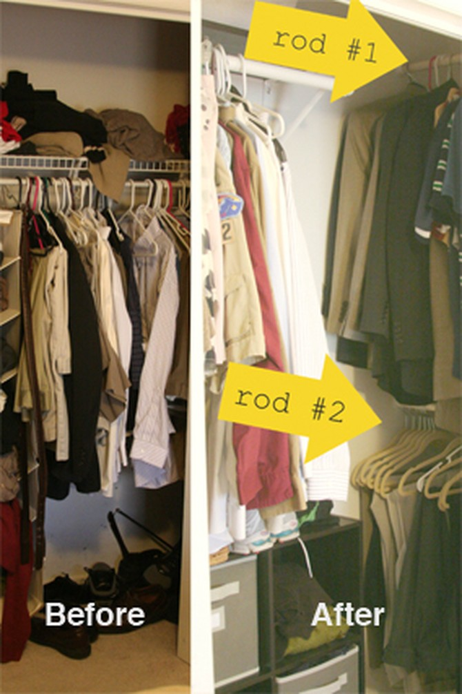 Small Closet Organization Bedroom Closet Storage Ideas
