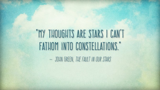 The Fault In Our Stars Quotes Enchanting The Fault In Our Stars Quotes