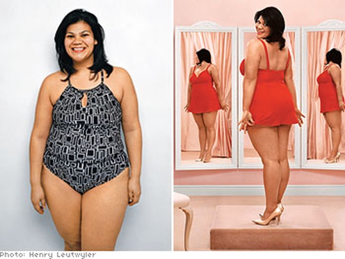 88bb217f001 How Not to Look Fat in a Swimsuit - Swimwear Makeovers