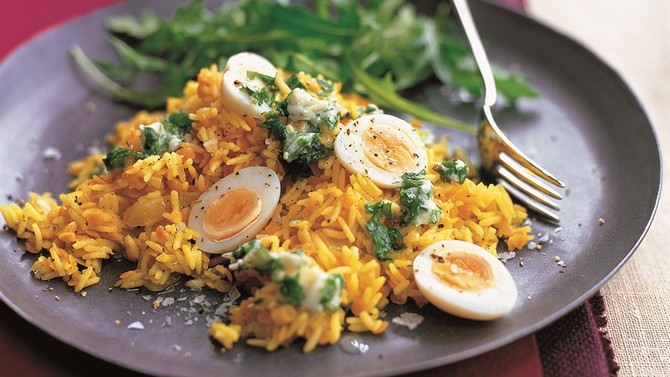 Kedgeree With Eggs And Tarragon Er