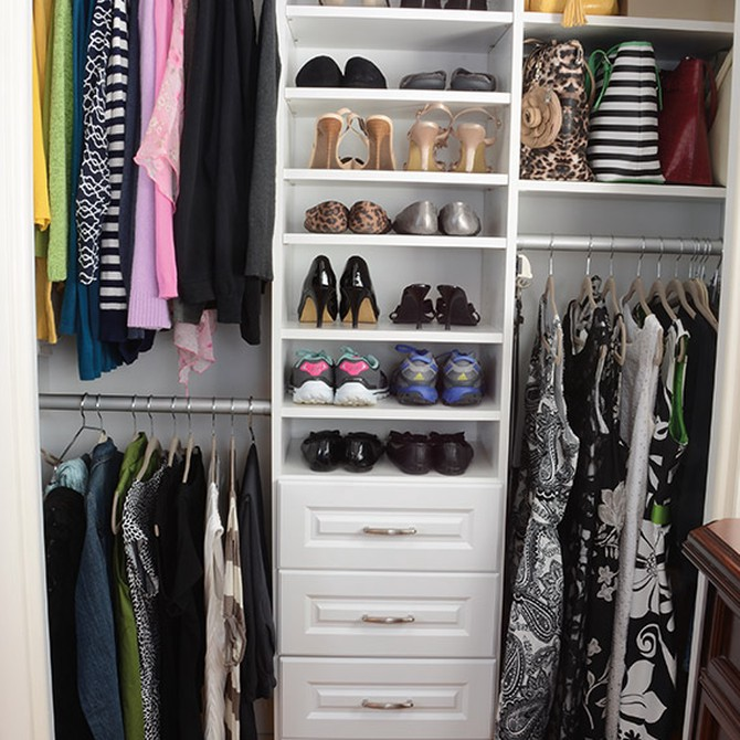 How To Organize A Master Closet