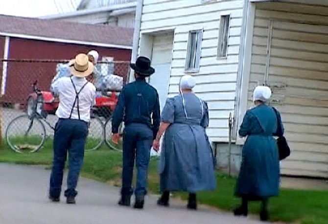 Naked amish families, filming with a pornstar