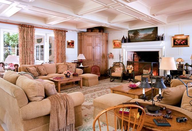 Inside Barbra Streisand S Dream Home,Landscaping Backyard Ideas No Grass