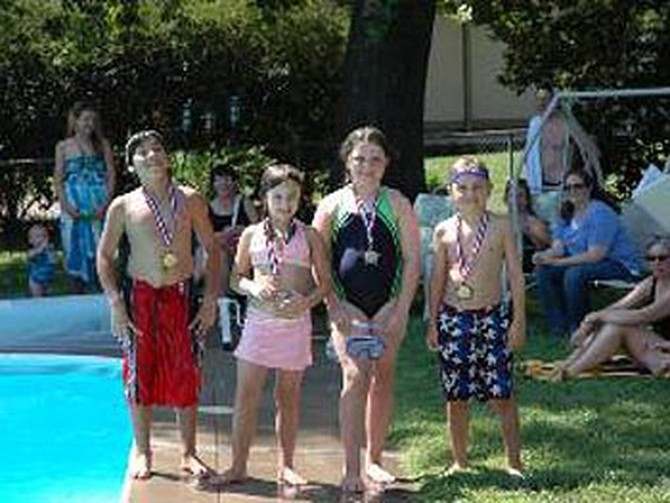 Winners of the annual cannonball contest