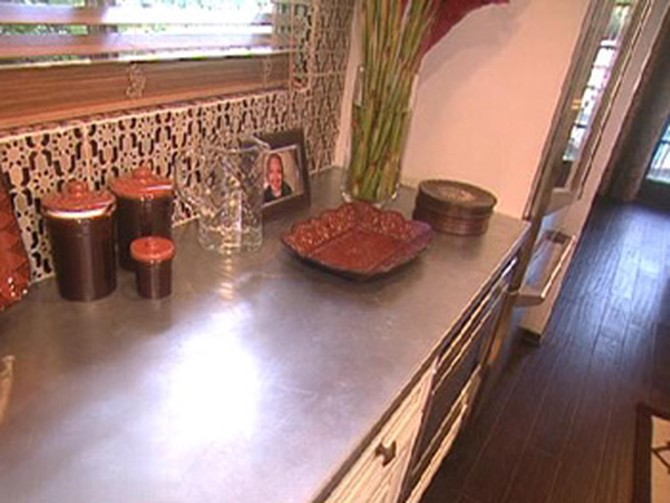 Nate Berkus says zinc countertops will always be in style.