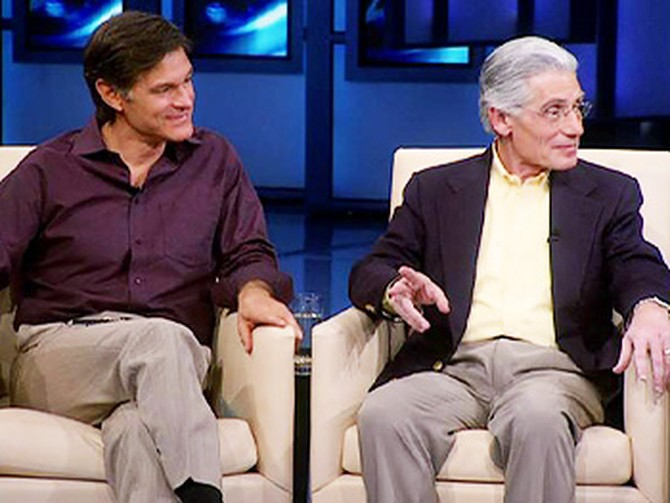 Dr. Weiss and Dr. Oz