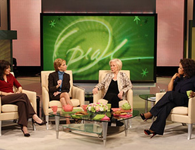Louise Hay, Martha Beck and Cheryl Richardson