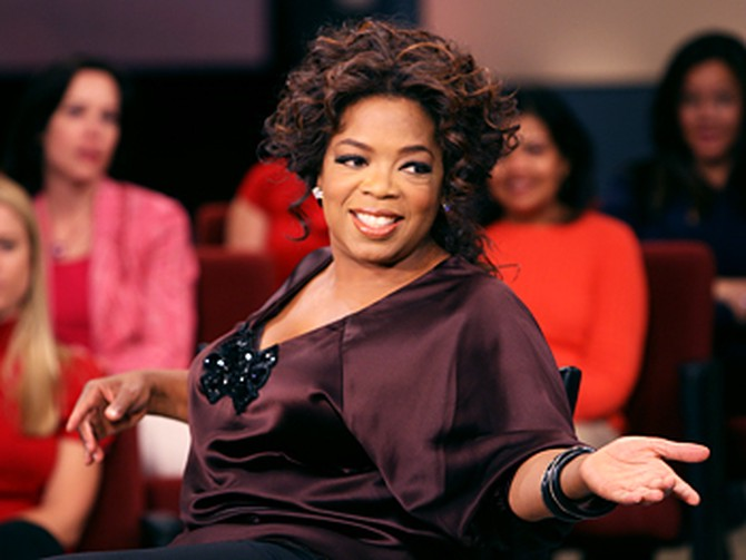 Oprah's embarrassing story