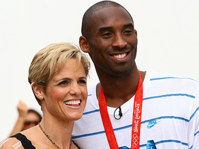 Kobe Bryant and Dara Torres