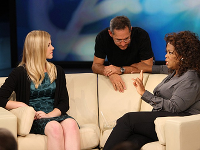 Dean, Elizabeth Smart and Oprah