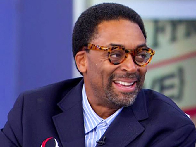 Acclaimed director Spike Lee