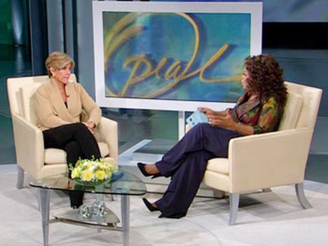 Suze Orman and Oprah