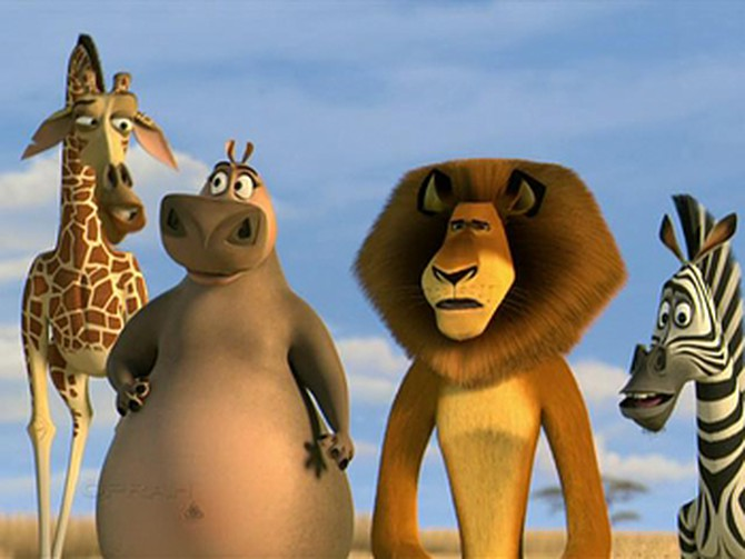 Ben Stiller and Chris Rock play animals in Madagascar: Escape 2 Africa.