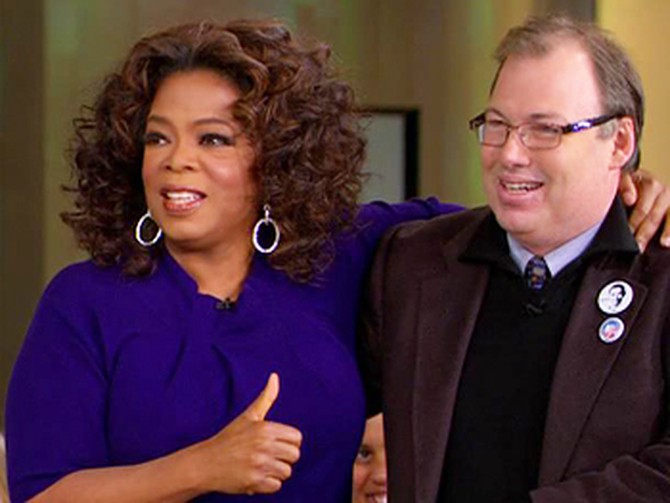 Oprah and Sam Perry