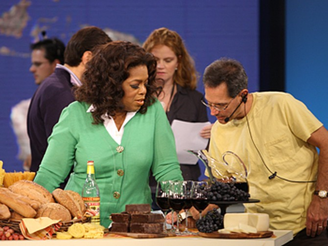 Dean, Oprah and the anti-aging foods of Sardinia