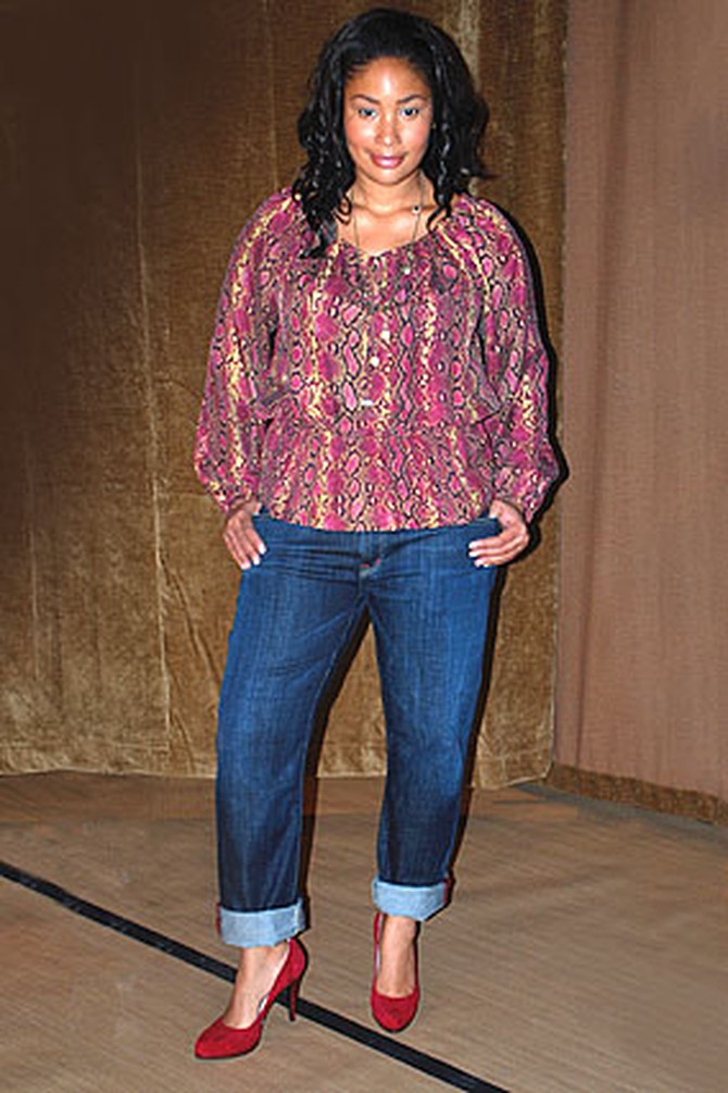 The Boyfriend style of CJ by Cookie Johnson Jeans