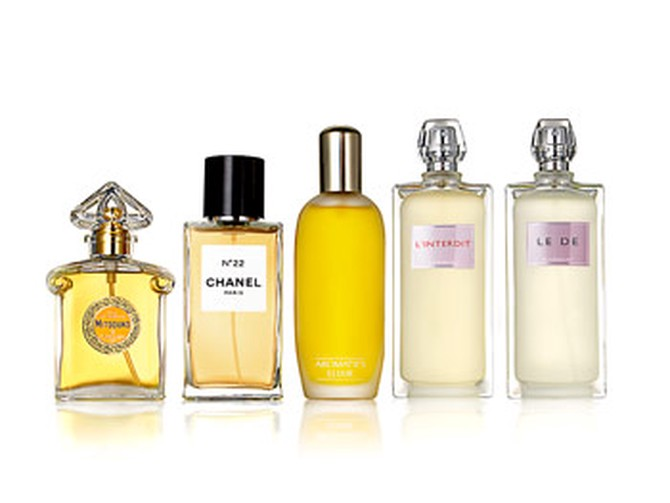 New fall fragrances