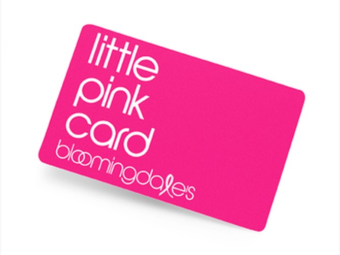 Bloomingdale's Little Pink Card