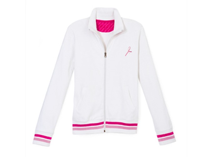 A sporty Reebok jacket for charity