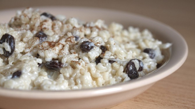 Slow-Cooker Rice Pudding
