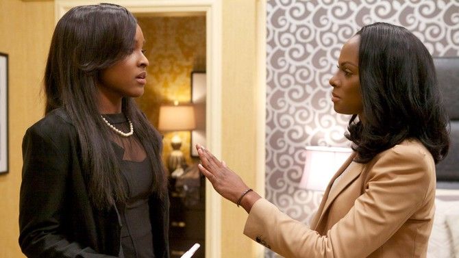 Antoinette Robertson and Tika Sumpter