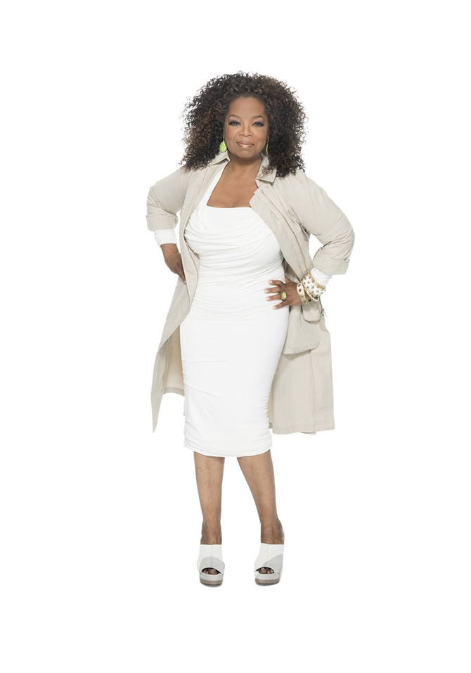 oprah white dress