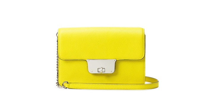 yellow milly purse
