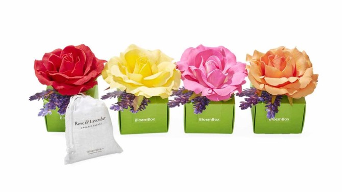 BloemBox Organic Rose and Lavender Sachets