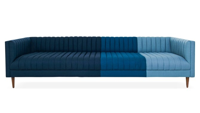 ombre couch