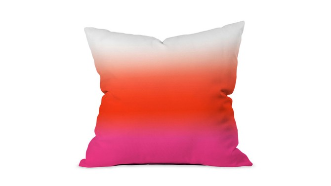 ombre pillow