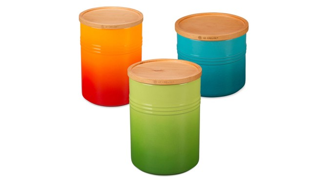 le creuset cannisters