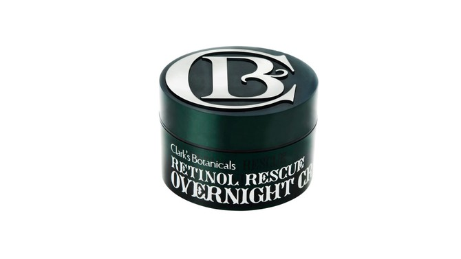Best Night Cream for Oily Skin: Clark's Botanicals Retinol Rescue Overnight Cream