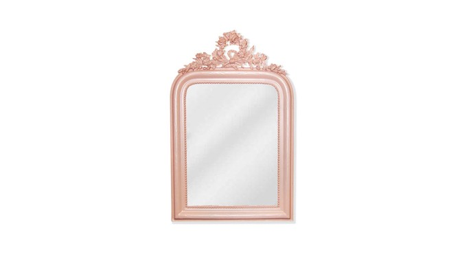The Mine Wreath-Top Wall Mirror