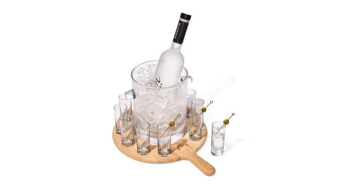 LSA International Paddle Collection Vodka Serving Set