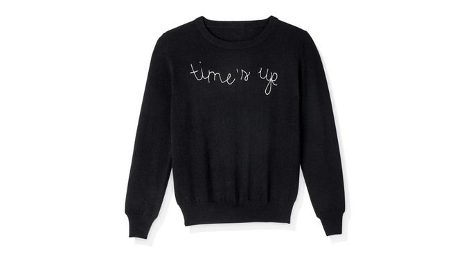Lingua Franca for Time's Up Sweater